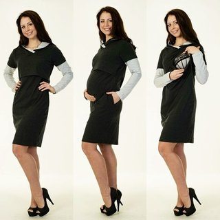 2in1 Umstandskleid Stillkleid