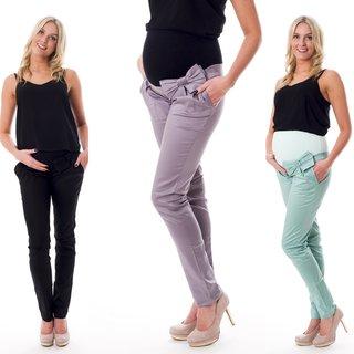 Umstandsmode Umstandsjeans Umstandshose Jeans Hose Röhrenhose Stretch D39
