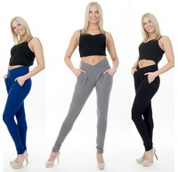 Damen Treggings Stretch Jogginghose Sporthose Fitness...